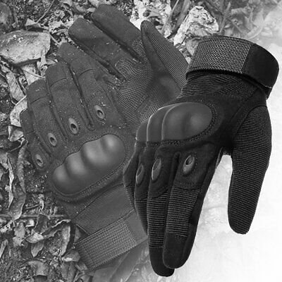Army Military Combat Hunting Shooting Tactical Hard Knuckle Full Finger Gloves 12