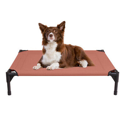 VEEHOO Elevated Dog Cat Bed Pet Cot Raised Lounger Hammock for Indoor & Outdoor 8