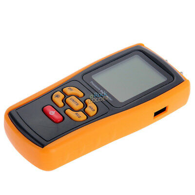 GM510 Handheld Digital Air Pressure Meter Manometer +/- 10kPa Measuring Teste rg 4