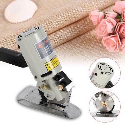 90MM Rotary Blade Electric Fabric Cutter Round Knife Cloth Cutting Machine 200W 2