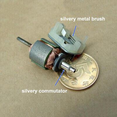 Mini FF-130SH Motor DC 12V-24V 18V Metal Brush Micro Flat 20mm Electric Motor 6