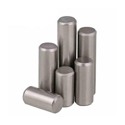 Dia.3//4mm A2 304 Stainless Steel Solid Cylindrical Pin Dowel Position Pins