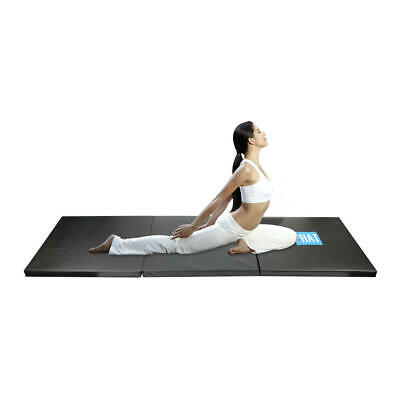 PHAT® 3-panel Folding Gymnastics Mat Thick Gym Fitness Exercise Yoga Tumbling 6