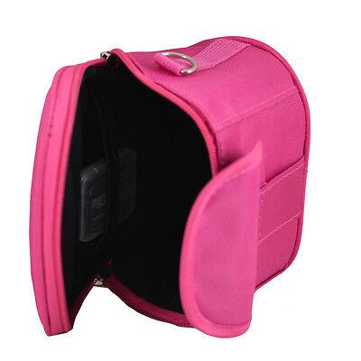 A3HP Hot Pink Camera Case Bag For Vivitar S126 X022 F128 VS128