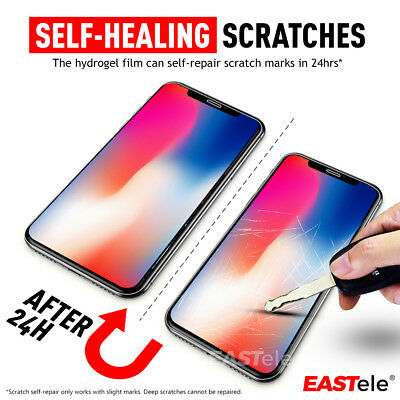 EASTele HYDROGEL Screen Protector Apple iPhone 11 Pro XS Max XR X 8 7 6s Plus 7