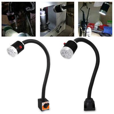 6W CNC Maschinenlampe Magnetische Schwanenhals LED Arbeitsleuchte Flexibel Licht