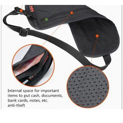 Security Money Belt Waist Discreet Travel Accessory Safe Handy Bum Bag Discreet 5