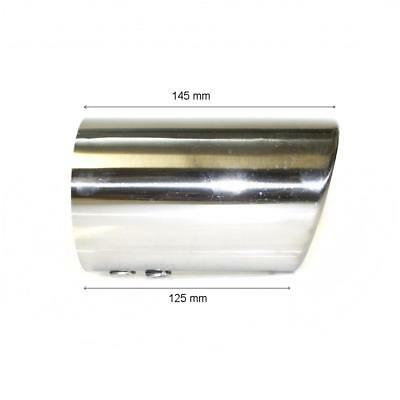 Chrome Exhaust Pipe Sport Muffler Trim Tail Tip For Audi A6 A8 1997-2003