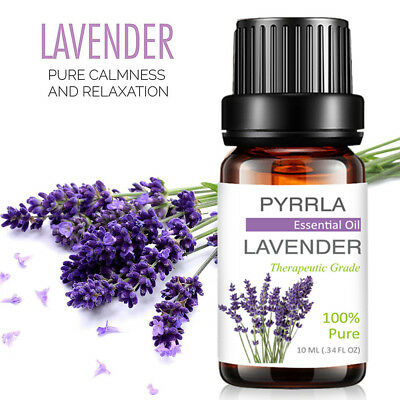 Essential Oils 100% Pure Natural Aromatherapy Therapeutic Aroma Diffuser Burner 3