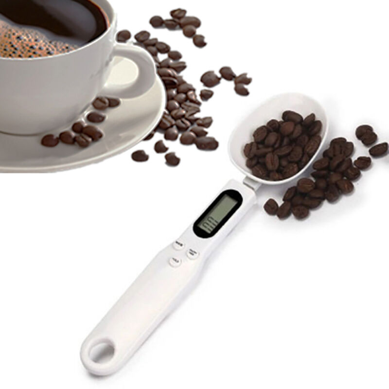 500/0.1g Digital LCD Measure Kitchen Food  Lab Electronic Spoon Weight Scale 2