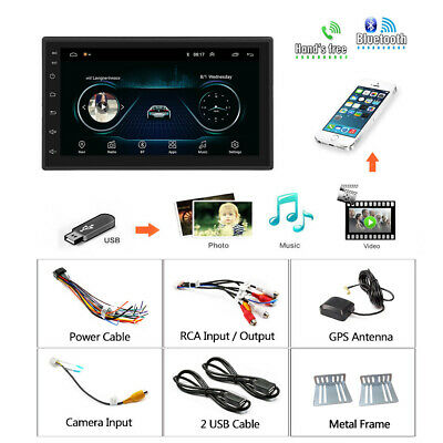 "7"" Android 8.1 AUTORADIO mit GPS Navigation NAVI BLUETOOTH WIFI DOPPEL 2 DIN MP3 12"