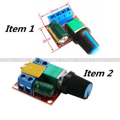 DC 3V-35V 5V-35V 5A Mini Motor PWM Speed Control Switch LED Dimmer Controller 5