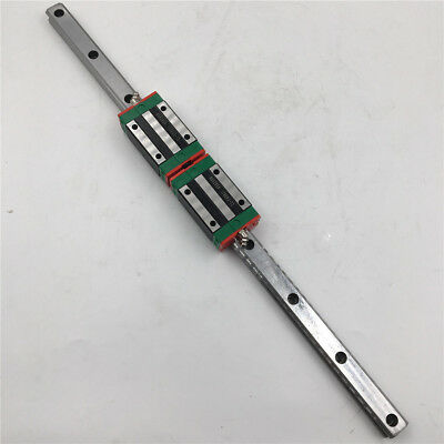 HGR25 Linear Guide Rail L1200mm & 2pcs HGH25CA Rail Guide Block Slider HIWIN 2