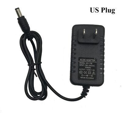 US/EU/UK/AU Plug AC 100-240V to DC12V/1.5A Power Adapter Converter 5.5*2.1mm
