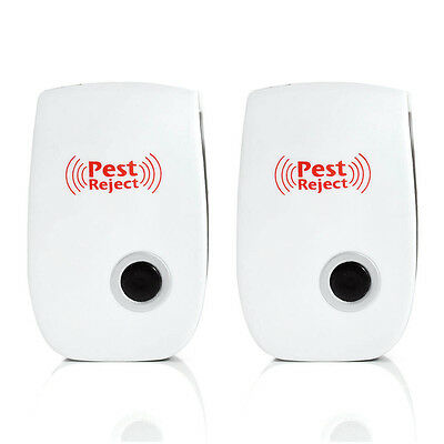 Ultrasonic Pest Reject Electronic Magnetic Repeller Anti Mosquito Insect Killer 3