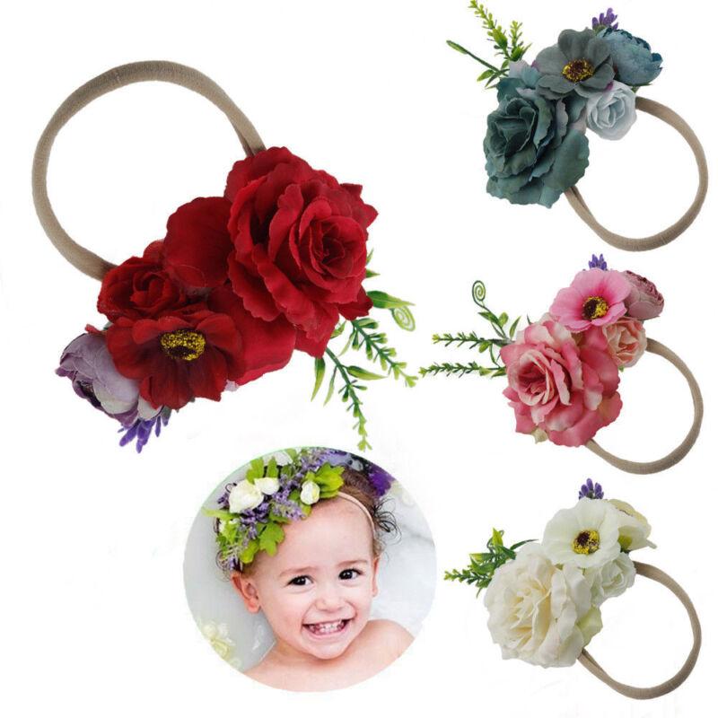 Cute Headband Kid Girls Baby Toddler Flower Hair Band Accessories Headwears Hot 4