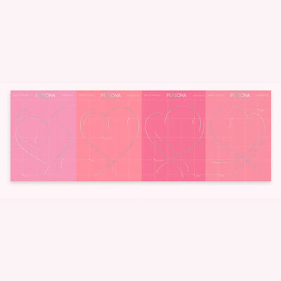 BTS MAP OF THE SOUL : PERSONA Album 4SET CD+Photobook+Card+Etc+Tracking Number 6