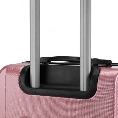 Reisekoffer SET 3tlg. Hartschalen Trolley Handgepäck Kofferset Bordgepäck 11