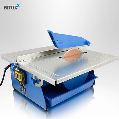 BITUXX® Elektrische Fliesenschneidmaschine 800 Watt Nass Fliesenschneider