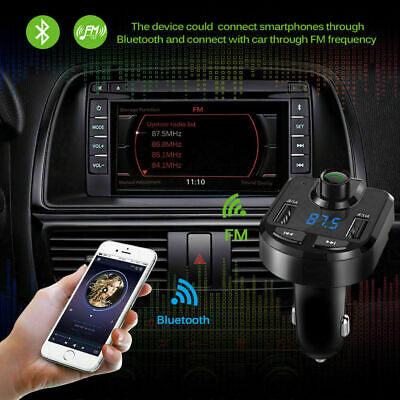 Bluetooth Car Set FM Transmitter Radio MP3 Player USB Charger Wireless Handsfree 11