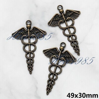 Wholesale Tibetan Silver Metal Charms Pendants Loose Spacer Beads Jewelry Making 7