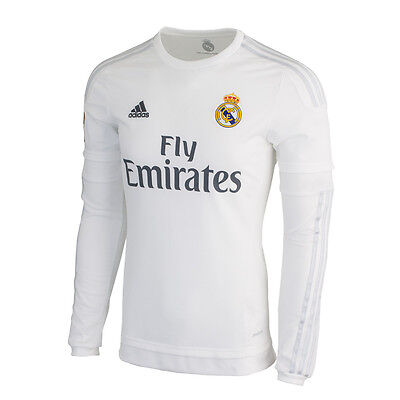 the best attitude ab788 54c7a ADIDAS CRISTIANO RONALDO Real Madrid Long Sleeve Home Jersey 2015/16.