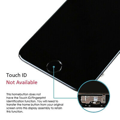 For iPhone 6S 8 6 7 Plus LCD Dispaly Touch Screen Complete Replacement + Button 8