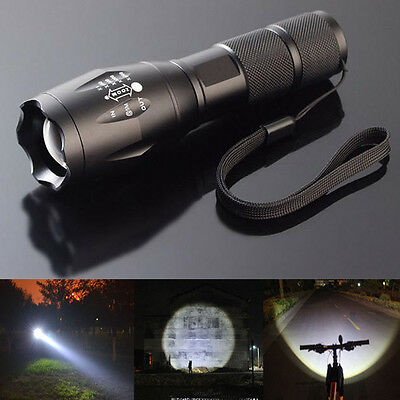 LOT3 10000LM 5Mode LED 18650 Flashlight Torch Zoom Lamp Lanterns Light