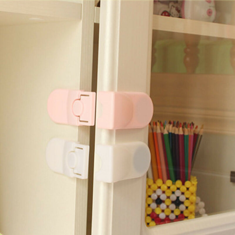Kids Child Baby Pet Housing Door Cupboard Refrigerator Drawer Safety Lock/ 2