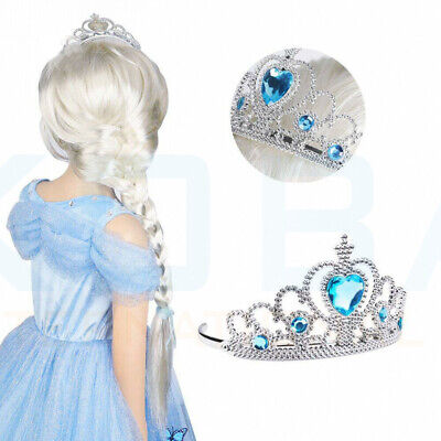 Vicloon Ice Princess Elsa Accessories Set  Tiara Crown and Magic Wand Girls Gift 7