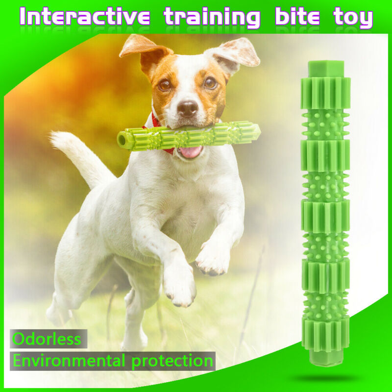 Dog Chew Toys for Aggressive Chewers Treat Training Rubber Tooth Cleaning Toy 3