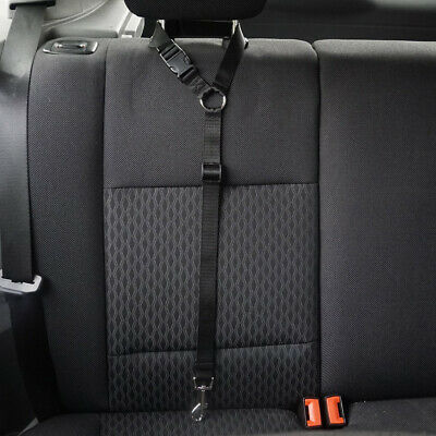 Adjustable Car Safety Seat Belt Harness Travel Lead Restraint Strap For Dog Pet 3