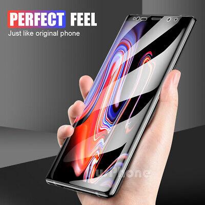 HYDROGEL AQUA FLEX Screen Protector Samsung Galaxy S9 S8 Plus Note 9 8 S7 Edge 4