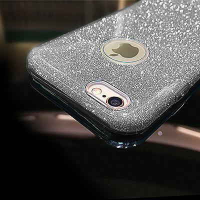 Housse Etui Coque Tpu Avant+Arriere 360° Bling Paillettes Pour Samsung Au Choix 10