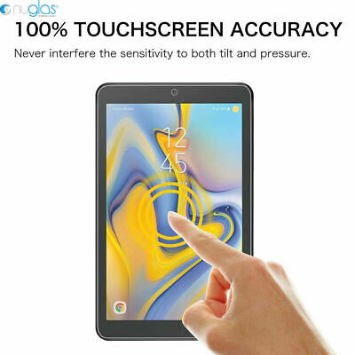 "Genuine Nuglas Tempered Glass Screen Protector for Samsung Galaxy Tab A 8.0""2018 10"