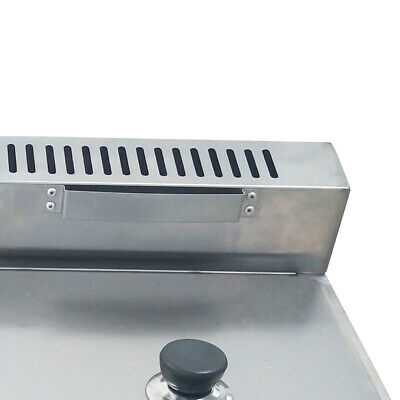 3 pan Gas Catering Food Warmer Steam Table Buffet Restaurant Gas Fryer 6Lx3 3