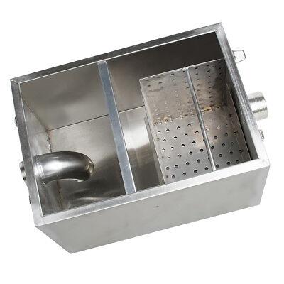 USA Stainless Steel Commercial Grease Trap Interceptor Filter Kit for Restaurant 5