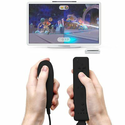 Wii Remote Controller Motion Plus and Nunchuck for Wii/Wii U Console Video Games 8