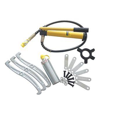 Split Type Hydraulic 3 Jaw Gear Puller Kit Jaw Puller Seperator 15Ton 450582 3