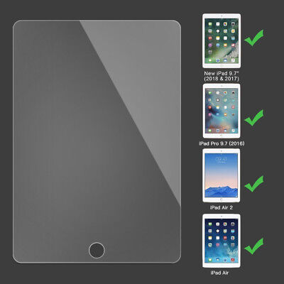 Anti Scratch 9H Hardness Tempered Glass Screen Protector for iPad 2018 9.7 in 10