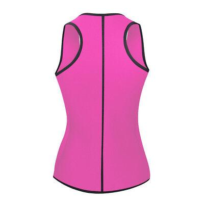 Women Sauna Thermo Shaper Sweat Waist Trainer Belt Slimming Vest Neoprene Corset 3