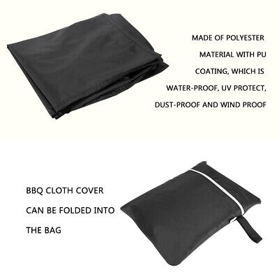 XS-XXL BBQ Cover Heavy Duty Waterproof Medium Barbecue Grill Outdoor Protector 8