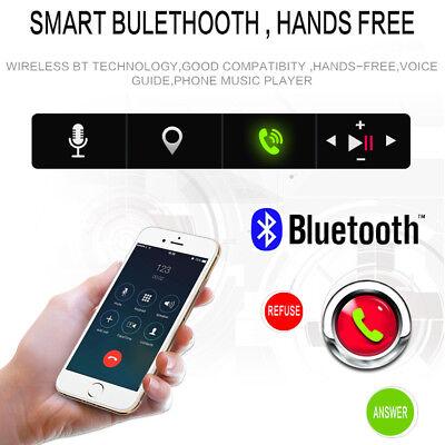 1Din Autoradio Mit Bildschirm Display Video Monitor Bluetooth Freisprech Usb Sd 3