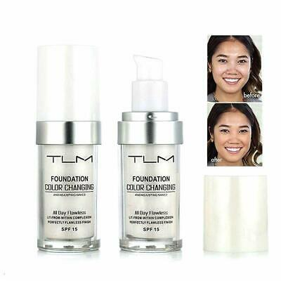 Magic Flawless Color Changing Foundation TLM Makeup Change Skin Tone Concealer 8