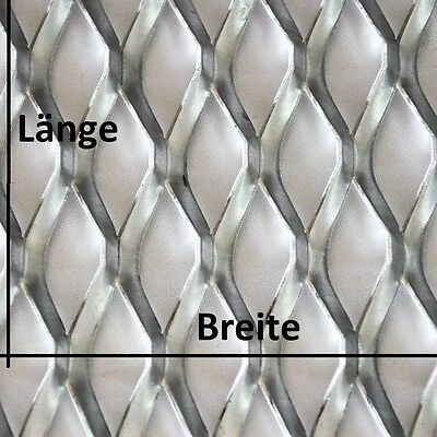 edelstahl streckmetall raute blech streckgitter gitter lochblech eur 10 50 picclick de. Black Bedroom Furniture Sets. Home Design Ideas