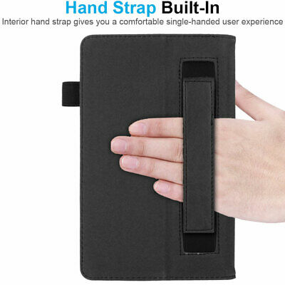 """for Amazon Fire 7"""" 2019 9th Generation Leather Flip Smart Case Stand Cover 5"""
