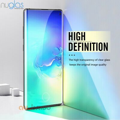 Samsung Galaxy Note 10 S10 5G Plus S10e NUGLAS Tempered Glass Screen Protector 2