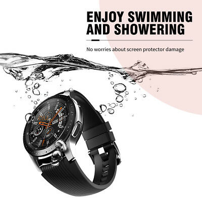 2x Samsung Galaxy Watch 46/42mm Scratch Resist Tempered Glass Screen Protector 3
