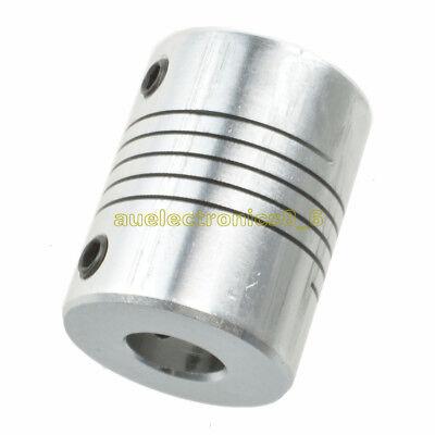 6.35 x 8mm CNC Motor Jaw Shaft Coupler 6.35mm To 8mm Flexible Coupling Gadgets U