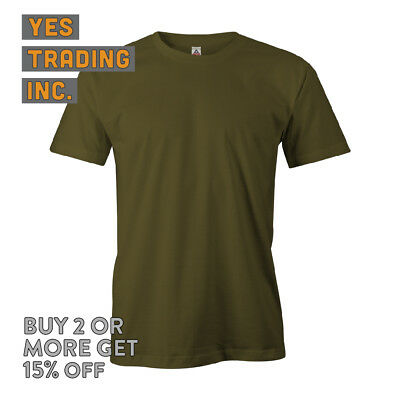 Aaa Alstyle 1301 Mens Casual T Shirt Plain Short Sleeve Shirts Cotton Tee Daily 5